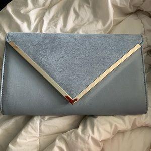 aldo clutch bag with chain